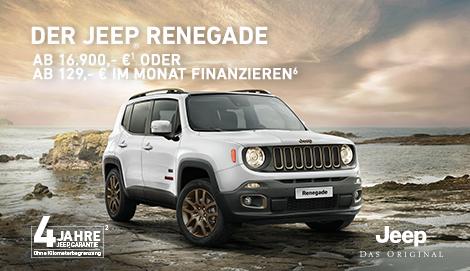 Der Jeep<sub>®</sub> Renegade